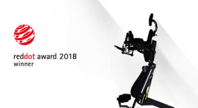 EvO Altus Wins 2018 Red Dot Product Design Award!