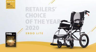 Ergo Lite Named Retailers' Choice!