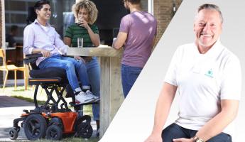 KARMA's Innovation; Batteries and Range in KARMA Wheelchairs